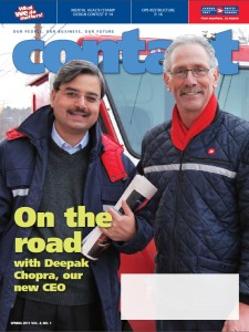 Canada Post Contact Mag Spring 2011